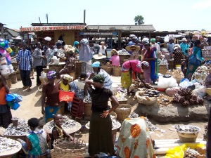 Ghanaian market 3, Nov 04