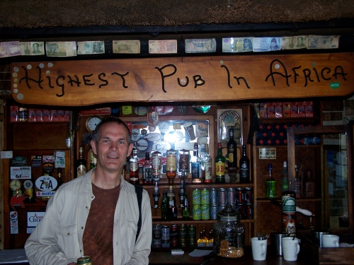 The Highest Pub in Africa